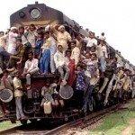 Riding with Bharatiya Rail!!!